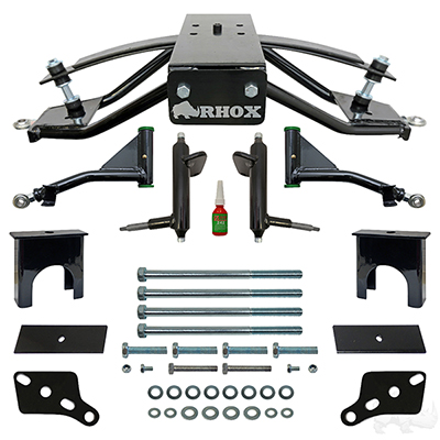 "RHOX Standard A-Arm Lift Kit, 6"" Club Car Tempo, Precedent"