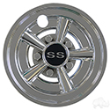 "Wheel Cover, 8"" SS Chrome"