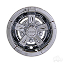 "Wheel Cover, 10"" Vegas Chrome"