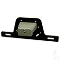 License Plate Bracket w/ Light, Surface Mount