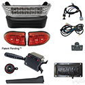 Build Your Own LED Light Bar Kit, Club Car Precedent 08.5 w/12V (Deluxe, Pedal Mount)