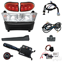 Build Your Own Light Bar Kit, Club Car Precedent 08.5 w/12V (Deluxe, Linkage)